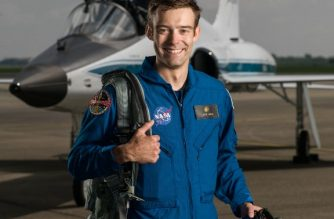 "This handout photo released by NASA shows 2017 NASA Astronaut Candidate Robb Kulin on the tarmac by Hangar 276 in Ellington Field, Houston, Texas, on June 6, 2017. For the first time in five decades, a NASA astronaut candidate has resigned from training, the US space agency said Tuesday August 28, 2018. Robb Kulin resigned from NASA effective August 31 for personal reasons, spokeswoman Brandi Dean said, declining to provide further details.  / AFP PHOTO / NASA / Robert Markowitz - NASA - Johnso AND Handout / RESTRICTED TO EDITORIAL USE - MANDATORY CREDIT ""AFP PHOTO / NASA / ROBERT MARKOWITZ"" - NO MARKETING NO ADVERTISING CAMPAIGNS - DISTRIBUTED AS A SERVICE TO CLIENTS"