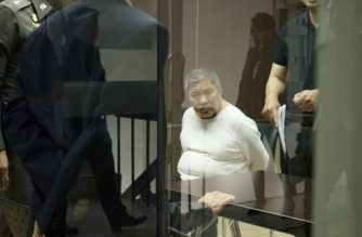 "(File photo) This photo taken on April 20, 2017 shows Tun Hung Seong, dubbed ""The Malaysian Iceman"", in custody following his arrest a day earlier on suspicion of trafficking methamphetamine from Thailand to Malaysia, at the Office of Narcotics Control Board in Bangkok.   Shielded by cash and contacts in Laos, 'Mr X' is accused of spinning millions of dollars from drugs before a very public downfall which has exposed the role of his secretive, communist country in showering pills across Southeast Asia. / AFP PHOTO / Aidan JONES / TO GO WITH: Thailand-Laos-drugs-crime, FOCUS by Aidan JONES and Jerome TAYLOR"