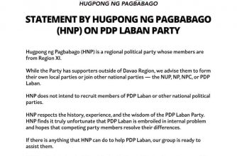 HNP statement