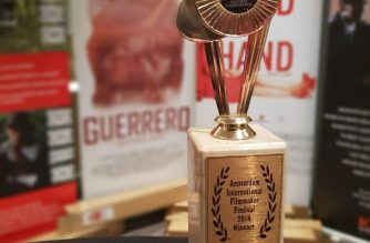"EBC's Films' ""Guerrero"" wins the ""Best Feature Comedy Film"" at the Amsterdam International Film Festival of World Cinema on August 19, 2018.  (Eagle News Service)"