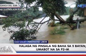 Halaga ng pinsala ng baha sa limang bayan sa Zamboanga del Sur, umabot na sa P2M