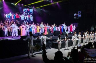 One of the musical plays conducted in Canada to celebrate the  50th anniversary in the West of the Iglesia Ni Cristo (Church Of Christ).  Photo from EBC Canada Bureau/ Eagle News Service