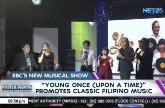 "EBC NET 25's new musical show ""Young Once (upon a Time)"" premieres Sunday, Aug. 26"