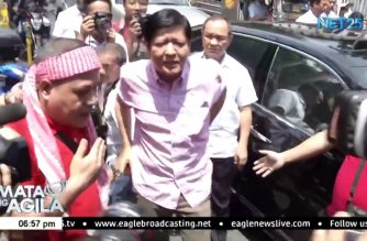 Former Sen. Marcos pays P50,000 fine for violating PET gag order on poll protest case