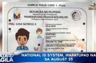 National ID system law to take effect on Aug. 25, but IRR publication needed for full implementation