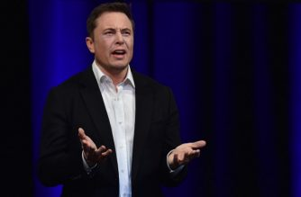 """(FILES) In this file photo taken on September 28, 2017 Billionaire entrepreneur and founder of SpaceX Elon Musk speaks at the 68th International Astronautical Congress 2017 in Adelaide. The US Securities and Exchange Commission on Thursday, September 27, 2018, charged Tesla CEO Elon Musk with securities fraud, alleging he misled investors last month in tweets about taking the company private. Musk tweeted August 7 that he had """"secured"""" funding to privatize the electric automaker at $420 a share, causing a brief spike in Tesla's share price.  / AFP PHOTO / PETER PARKS"""
