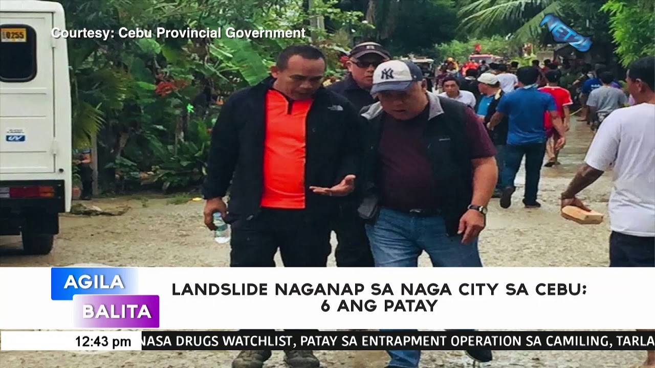 6 people confirmed dead, about a hundred more feared trapped, in Cebu landslide