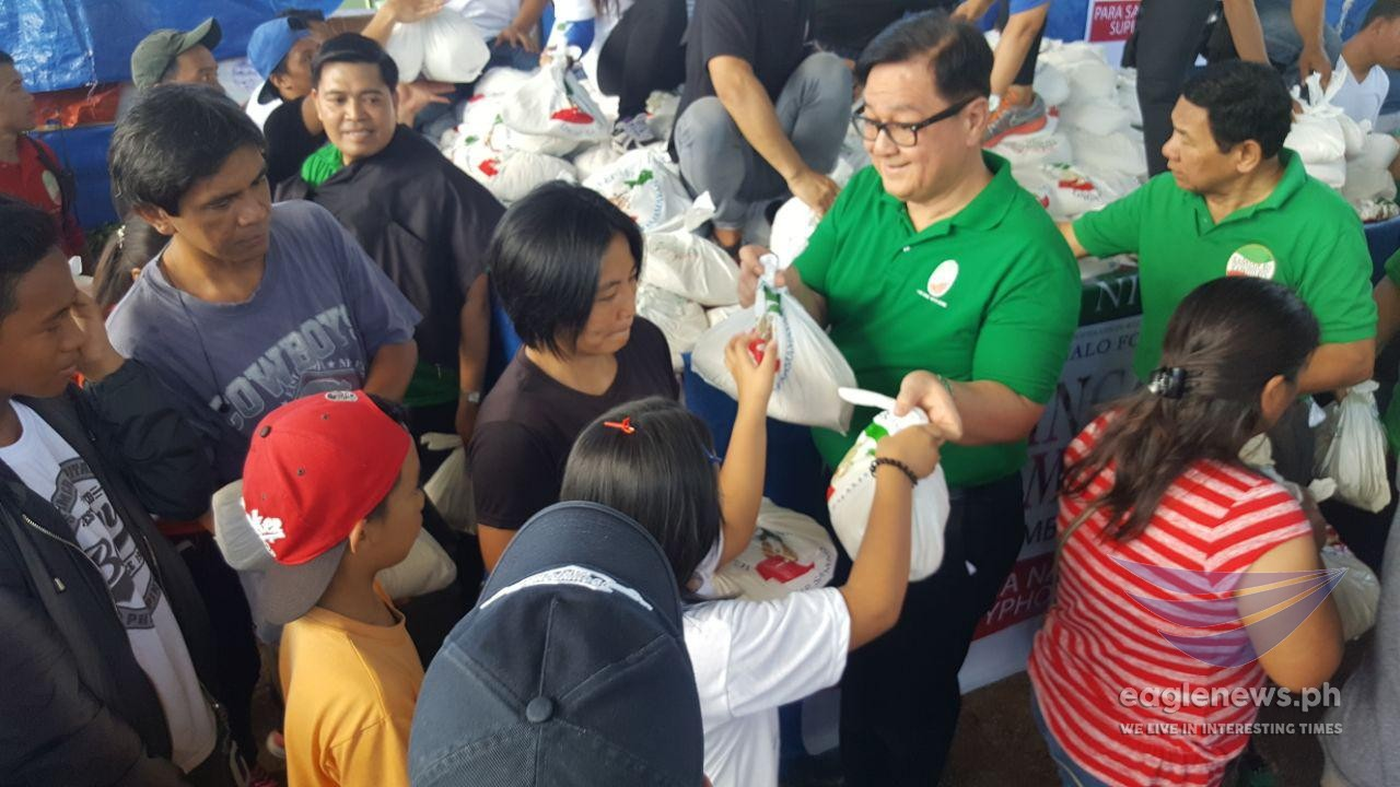 "In photos: INC holds ""Lingap sa Mamamayan"" relief distribution in Itogon, Benguet"