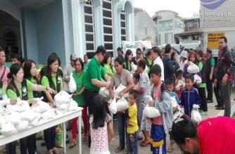 Lingap para sa nasalanta ng bagyong Ompong, isinagawa sa distrito ng Benguet