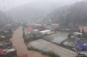 Flooding in Baguio City