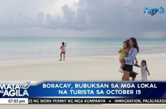 Boracay, bubuksan sa mga lokal na turista sa October 15