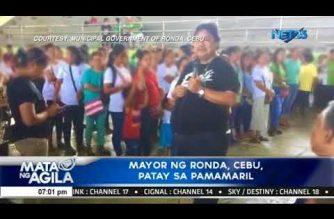 Cebu town mayor linked to illegal drug activities shot dead