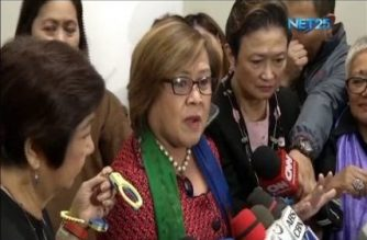 "De Lima amid allegations of irregularities in proposed national budget: Duterte ""weak, incapable of stopping corruption"""