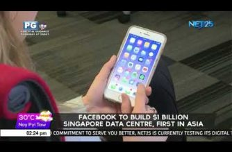 Facebook to build $1 bn Singapore data center, first in Asia