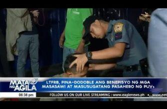 LTFRB, pina-dodoble ang benepisyo ng mga masasawi at masusugatang pasahero ng PUVs