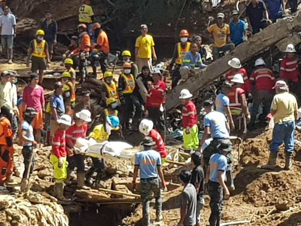 News in Photos: Search and retrieval ops for missing victims of landslide in Itogon, Benguet continue
