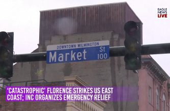 Watch: EBC US bureau reports on Hurricane Florence in the US; INC organizes emergency relief