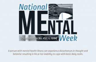 INFOGRAPHICS: Mental Health Week