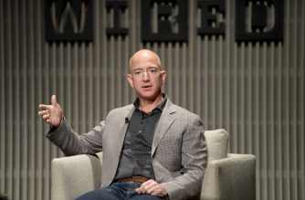 SAN FRANCISCO, CA - OCTOBER 15: Jeff Bezos speaks onstage at WIRED25 Summit: WIRED Celebrates 25th Anniversary With Tech Icons Of The Past & Future on October 15, 2018 in San Francisco, California.   Matt Winkelmeyer/Getty Images for WIRED25 /AFP