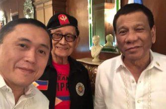 Duterte, Ramos and Go