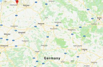 Screenshot from Google map.. Courtesy Google