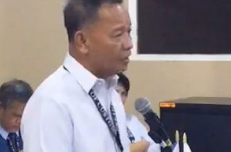 Customs commissioner Isidro Lapeña.  (Screengrab from Bureau of Customs video)