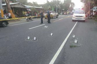 Lalaki patay matapos mang-agaw ng armas sa isang police escort