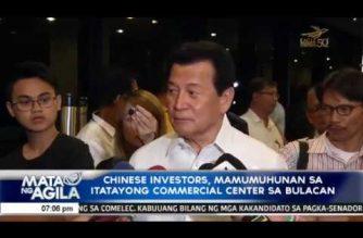 Chinese investors, mamumuhunan sa itatayong commercial center sa Bulacan