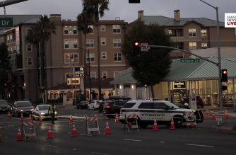 EBC reports on the scene:  Suspect dies after struggle with police officers in Millbrae, California