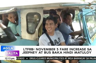 Jeepney, bus fare hike on Nov. 3 could be delayed after appeal by commuters' group, says LTFRB chair