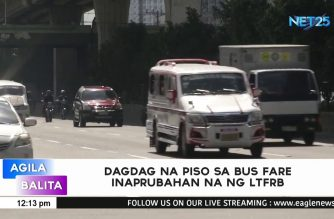 LTFRB also approves Php1 bus fare hike