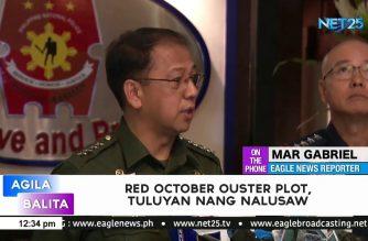 Red October ouster plot, tuluyan na umanong nalusaw