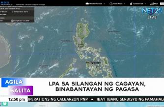 LPA sa silangang bahagi ng Cagayan, binabantayan ng PAGASA