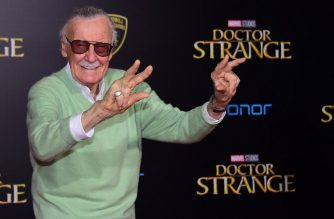 (FILES) In this file photo taken on October 20, 2016 Executive Director of the film, Stan Lee poses for photographers at the world premiere of Marvel Studios 'Doctor Strange' in Hollywood, California. - Marvel legend Stan Lee, who revolutionized pop culture as the co-creator of iconic superheroes like Spider-Man and The Hulk who now dominate the world's movie screens, has died. He was 95 years old. Lee, the face of comic book culture in the United States, died early November 12, 2018 in Los Angeles, according to US entertainment outlets including The Hollywood Reporter. He had suffered a number of illnesses in recent years. (Photo by Frederic J. BROWN / AFP)