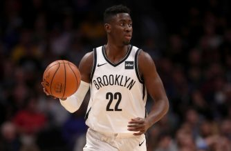 (FILES) In this file photo taken on November 9, 2018 Caris Levert #22 of the Brooklyn Nets plays the Denver Nuggets at the Pepsi Center in Denver, Colorado. NOTE TO USER: User expressly acknowledges and agrees that, by downloading and or using this photograph, User is consenting to the terms and conditions of the Getty Images License Agreement. - Brooklyn Nets guard Caris LeVert will not require surgery after suffering a dislocated right foot in an NBA game, the club announced on November 13, 2018. The 24-year-old American, who has played all three of his NBA seasons with the Nets, was wheeled off the court in pain after a gruesome injury in Monday's 120-112 Brooklyn loss at Minnesota. (Photo by MATTHEW STOCKMAN / GETTY IMAGES NORTH AMERICA / AFP)