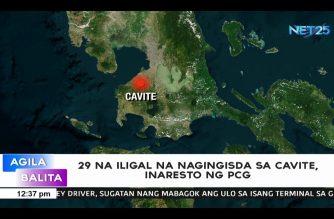 29 na iligal na nagingisda sa Cavite, inaresto ng PCG