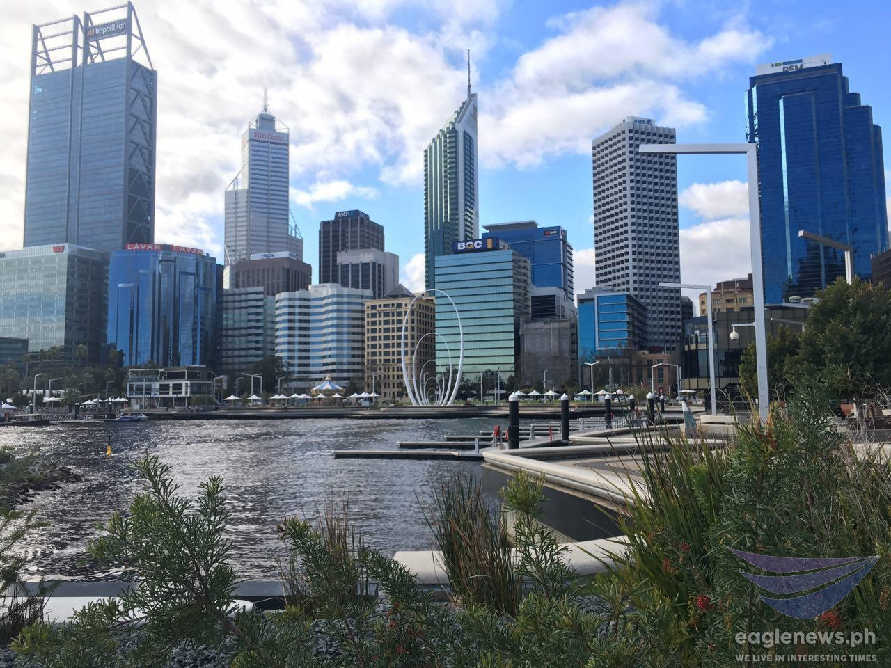 #EBCphotography:  Featured photo –  Elizabeth Quay in Perth, Australia