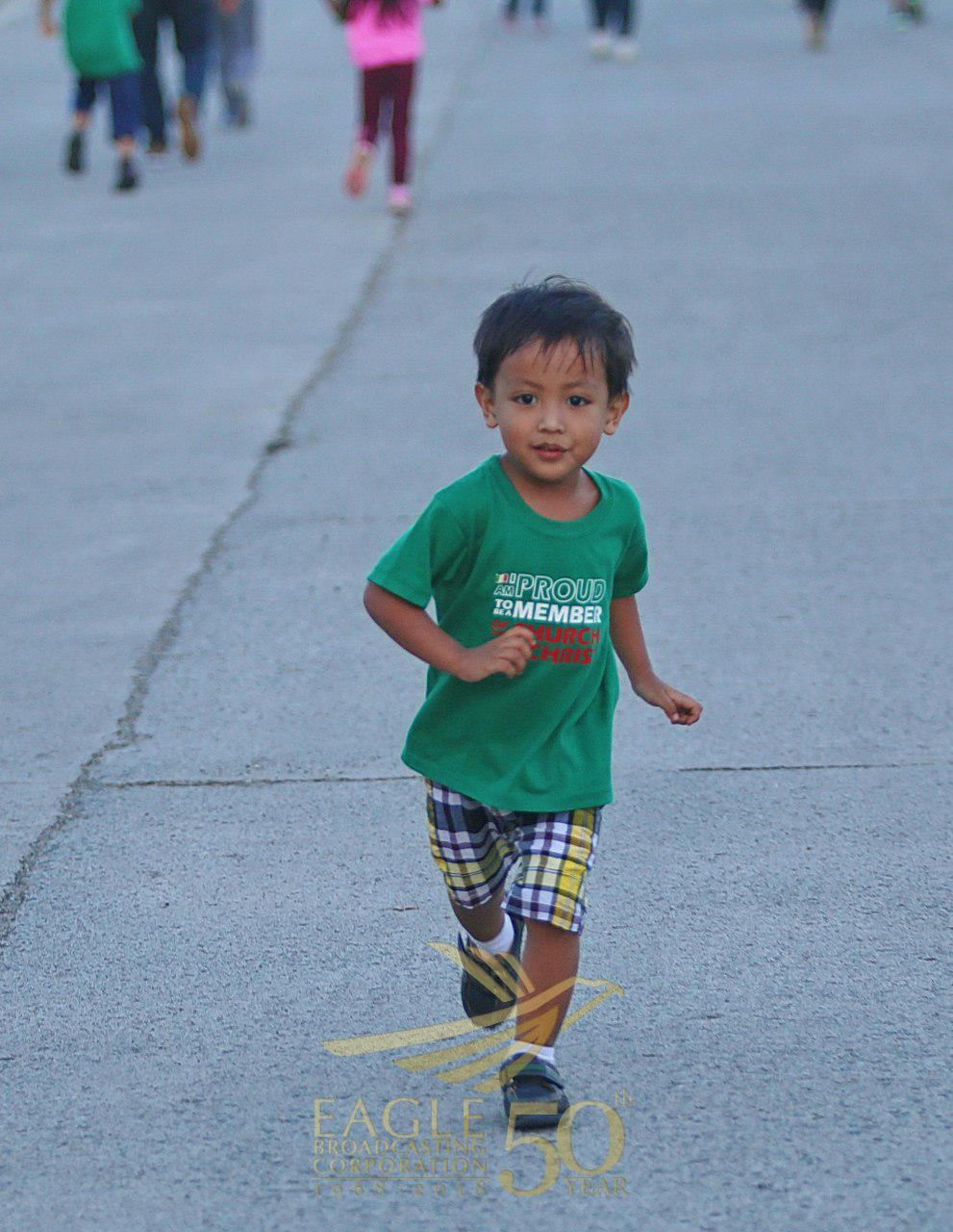 In photos:   Kids join in the fun at the EBC Fun Run