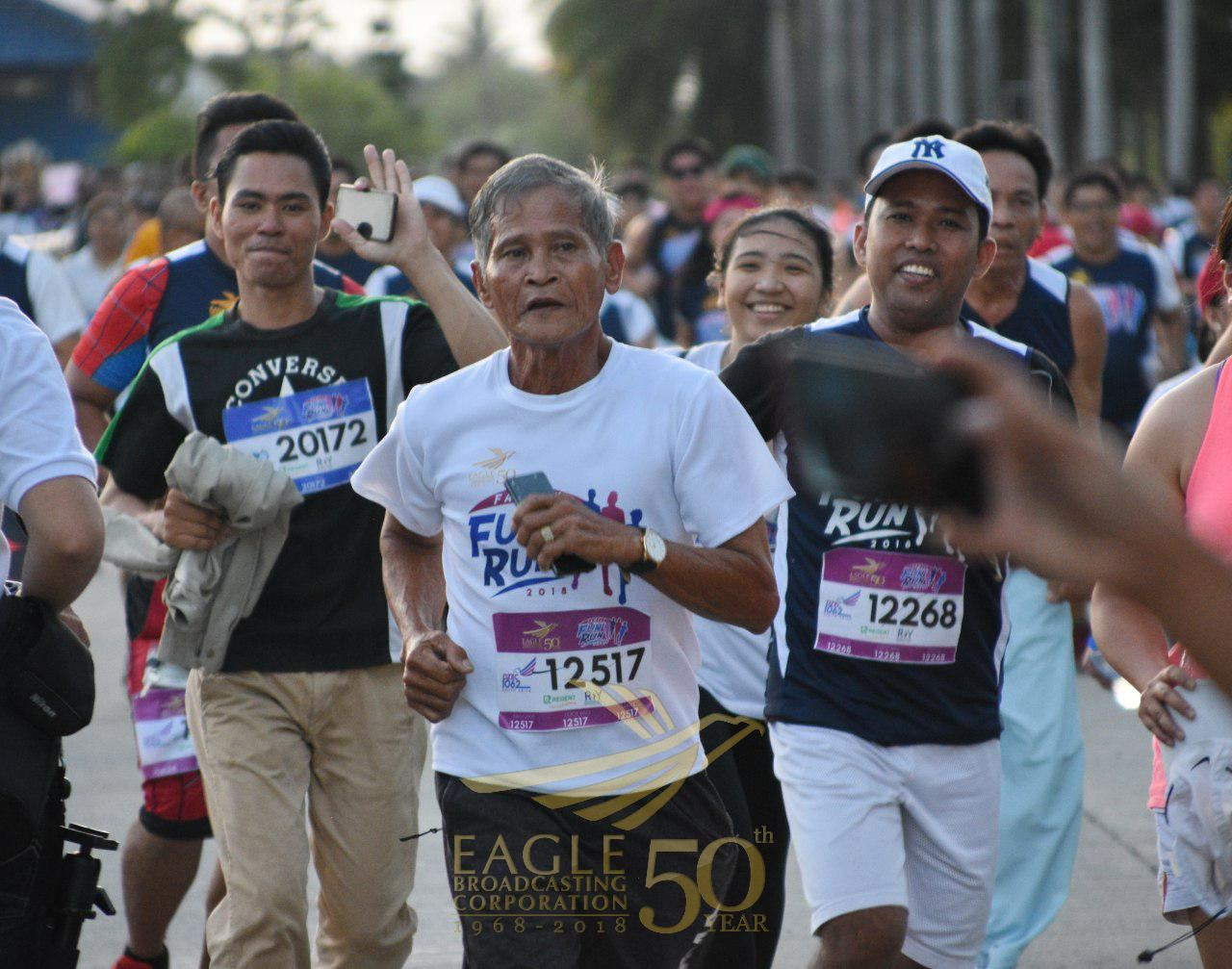 In photos:  Elderly people join EBC Fun Run