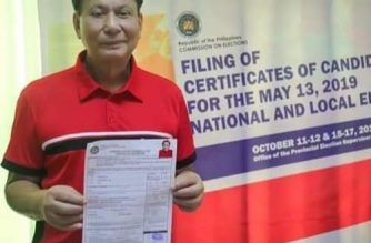 Surigao del Sur Gov. Vicente Pimentel Jr., naghain ng withdrawal of candidacy