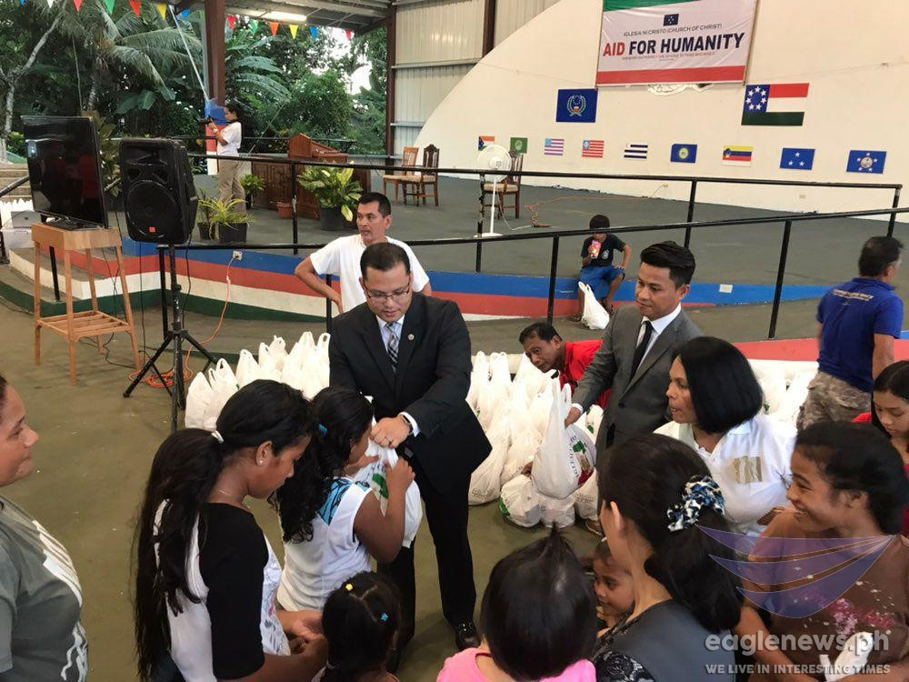 Iglesia Ni Cristo holds Aid to Humanity outreach event in Pohnpei, Micronesia