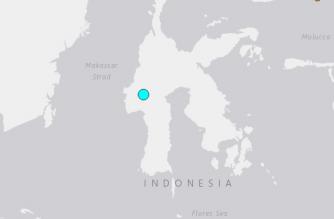 Shallow 5.1-magnitude quake strikes Indonesia's Sulawesi
