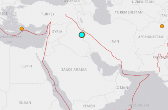 Strong earthquake rocks western Iran