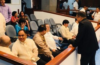 The appointment of Teodoro Locsin Jr. as Foreign Affairs secretary was approved by the foreign affairs panel of the Commission on Appointments on Wednesday, Nov. 28./Meanne Corvera/Eagle News Service/