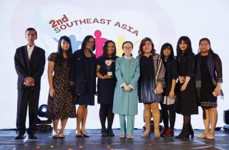 "Eagle Broadcasting Corporation- NET 25's ""Kid Kuwento"" bags the award for the professional non-fiction category in the recent 2nd Southeast Asia Video Festival for Children.  (Photo courtesy Southeast Asia video festival for children)"