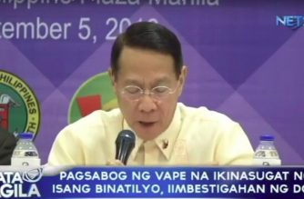Pagsabog ng vape na ikinasugat ng isang binatilyo, iimbestigahan ng DOH
