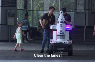 Beep beep boop: 'Robocop' boosts security at ASEAN summit