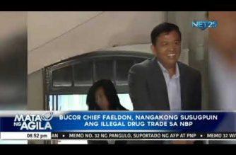 BuCor Chief Faeldon, nangakong susugpuin ang illegal drug trade sa NBP