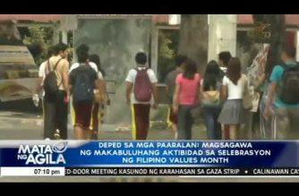 DepEd sa mga paaralan: Magsagawa ng makabuluhang aktibidad sa selebrasyon ng Filipino Values Month