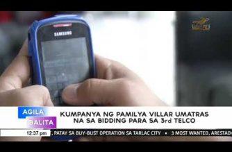 Kumpanya ng pamilya Villar, umatras na sa bidding para maging 3rd telco ng bansa